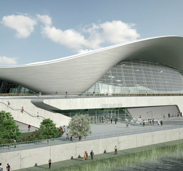 London Aquatics Centre Timber Kent